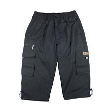 Hombre Cargo Shorts, Pantalones Bermuda Cortos, Pantalón Corto, de Verano
