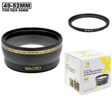 Digital Wide Angle Lens For Sony Alpha NEX-7 NEX-5 NEX-5N NEX-5R NEX-3 NEX-C3