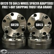 6x4.75 to 5x4.5 Wheel Adapters Hubcentric 2 Inch 6 Lug To 5 Lug 6x120 to 5x114.3