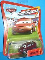 2009 Disney Pixar The World of Cars Andrea #89  Race O Rama NEW VHTF