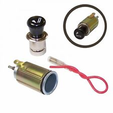 Universal 12V Cigarette Lighter Assembly Plug Socket Unit for Auto-Car-Truck