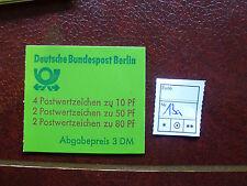 Berlin Markenheft 13 a postfrisch