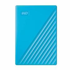 WD 2TB My Passport USB 3.2 Gen 1 External Hard Drive (2019, Sky)