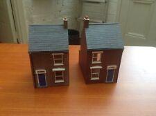 More details for hornby skaledale terraced houses left & right hand r8621 & r8622 oo gauge resin