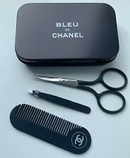 CHANEL scissors tweezers comb bleu de chanel set NEW very rare VIP GIFT