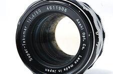 PENTAX Super Takumar 50mm F1.4 M42 Lens SN4611906
