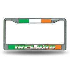 Ireland World Cup Soccer (Football) Chrome Metal License Plate Frame
