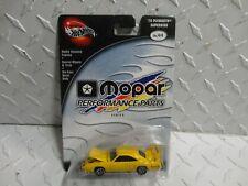 Hot Wheels 100% Preferred Mopar Performance Yellow '70 Plymouth Superbird w/RR's