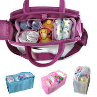 Portable Baby Diaper Nappy Baby Water Bottle Changing Divider Storage Inner Bag