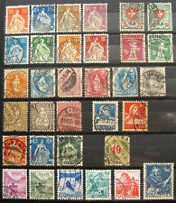 Switzerland old fine used stamps