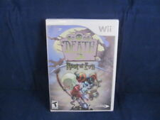 DEATH JR.: ROOT OF EVIL VIDEO GAME ( Wii, 2008) NEW SEALED