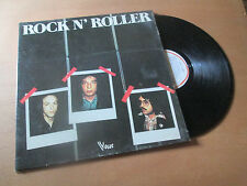 ROCK N'ROLLER energy RARE FRENCH ROCK - VOGUE Lp 1978