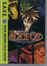 Black Cat: The Complete Series - S.A.V.E. (DVD, 2012, 4-Disc Set)