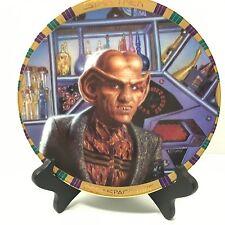 Hamilton Collection 1994 Star Trek Deep Space Nine Proprietor Quark Plate