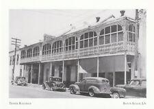 """*Louisiana-""""Tessier Buildings"""" -On Lafayette Street/ *Baton Rouge LA. (Postcard)"""