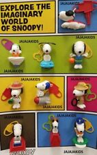 McDonalds 2018 SNOOPY Complete Set of 10 - FREE PRIORITY - ON HAND