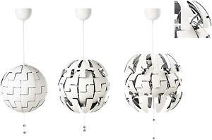 IKEA Design LED Hängeleuchte Deckenleuchte Lampe StarWars PS 2014 Weiß / Silber