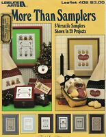 More Than Samplers Cross Stitch   Leisure Arts 402 Marriage Birth