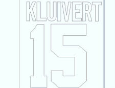 1994-1995 Kluivert 10 Home Ajax Football Name set for National shirt