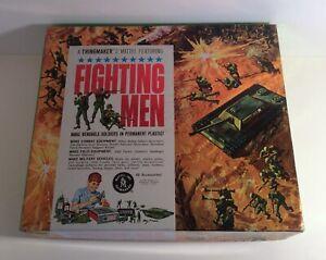 Mattel Fighting Men Thingmaker 1965 In Box Plasti Goop Mid Century Toy