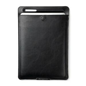 Bertronic Kunstleder-Tasche für Tablets - mit Stifthalterung und Standfunktion