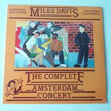 Miles Davis - Complete Amsterdam Concert - Vinyl LP France 1984 Press EX+/NM
