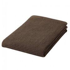 MUJI Organic cotton Waffle Small Bath Towel Thin Brown 60×120cm  MoMA
