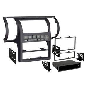 Metra 99-7604B Black Single/Double DIN Combo Dash Kit for 2003-2004 for Infiniti