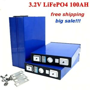 3.2V 100Ah LiFePO4 battery pack iron phosphat Motorcycle Electric Car Solar Sale