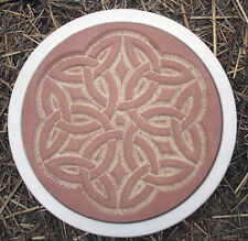 Celtic stepping stone plastic mold reusable heavy duty mould