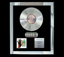 GENESIS INVISIBLE TOUCH   MULTI (GOLD) CD PLATINUM DISC FREE POSTAGE!!