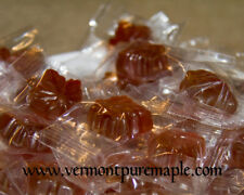 Mansfield Maple 1 Pound (16oz) Maple Drops Candies (70 Hard Candies)