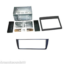 Double Din Stereo Fitting Kit Fascia Panel For Porsche 911 (TYP996) 986 Boxster