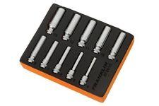"""Franklin 10 PCE Socket SET 1/4"""" DR Deep 6 PT Garage/workshop Tool Essentials"""