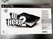 DJ Hero 2 PS2 PS3 Turntable PlayStation Incl 2 Games