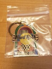 Hard Rock Cafe Atlantic City keychain ring (metal)