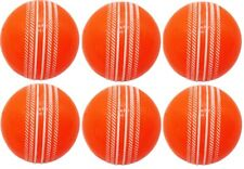 Flash Cricket SYNTETIC Ball Orange (Pack of 6) Free Shipping_World Wide