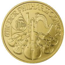 2017 Austria 100 Euro 1 Troy oz. .9999 Fine Gold Philharmonic BU Coin SKU44945