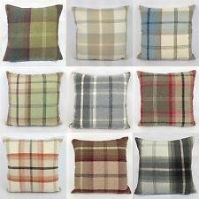 Warm Highland Tartan Checked Brushed Fabric 16