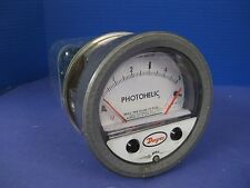 "Dwyer 3005 Photohelic Gauge 0 to 5"",  Used"
