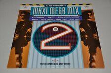 """DJ Top 40 - Maxi Mega Mix Vol. 2 - 12"""" Maxi Vinyl Schallplatte LP"""