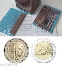 2 euro San Marino 2017 Giotto Anniversario Folder Ufficiale