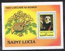 St. Lucia postfris 1980 MNH - Decade for Woman (S1825)