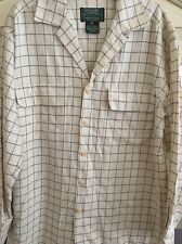 Vintage Ralph Lauren Country LS Button Down Cotton Wool Size Large Polo