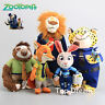 Zootopia Judy Nick Fox FLASH Sloth Clawhauser Mayor Lion Plush Toy Doll Teddy