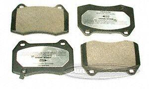 VGX MF960A Semi-Metallic Disc Brake Pad, Front