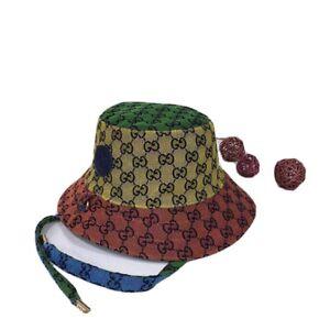 gucci multicolor bucket hat
