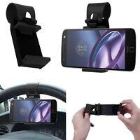 Accessoire Support Voiture Universel Avec Attache Volant NOIR Pour Seri Motorola