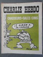 ►CHARLIE HEBDO N°43 - SEPTEMBRE 1971 - REISER