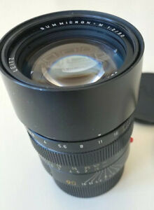 Leitz Leica Summicron-M 90mm f/2 Excellent pre-ASPH